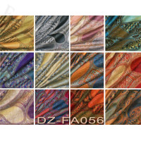 Colorful Paisley Scarf 1 DZ, Asst. Color