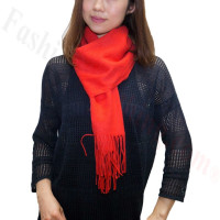Premium Cashmere Feel Scarf Red
