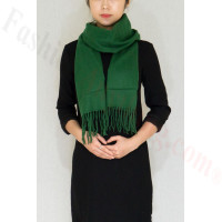 Premium Cashmere Feel Scarf Green