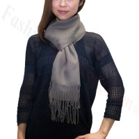 Premium Cashmere Feel Scarf Grey