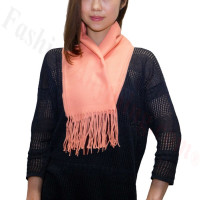 Cashmere Feel Scarf 1DZ, Coral