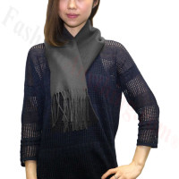 Winter Cashmere Feel Scarf Charcoal