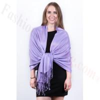 Silky Soft Solid Pashmina Scarf Lavender Dozen (12 Pcs)