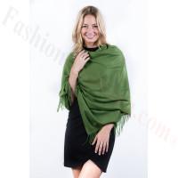 Green Premium Thick Pashmina