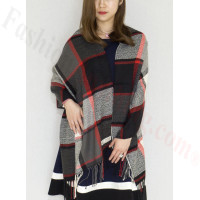 Cashmere Feel Scarf Black