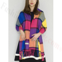 Cashmere Feel Scarf Multi Color