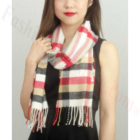 Woven Cashmere Feel Plaid Scarf Z01 Multi Color