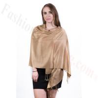 Gold Pashmina Scarf