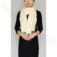 Cashmere Feel Scarf, 1DZ Butter