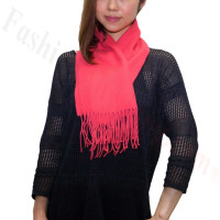 Cashmere Feel Scarf 1DZ, Hot Pink