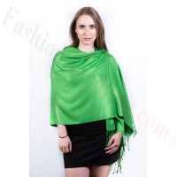 Kelly Green Pashmina Scarf