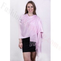 Silky Soft Solid Pashmina Scarf Thistle