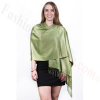 Clover Solid Pashmina Scarf