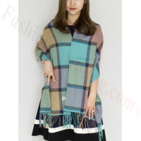 Cashmere Feel Scarf Teal