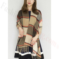 Cashmere Feel Scarf Beige