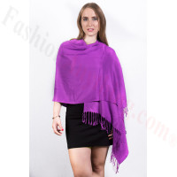 Purple Pashmina Scarf NEW