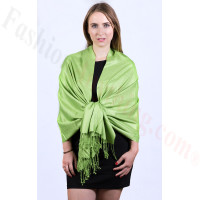 Clover Solid Pashmina Scarf NEW