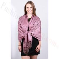 Silky Soft Solid Pashmina Scarf Mauve
