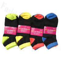 Women Socks Dozen (12 Pairs) - Assorted Color